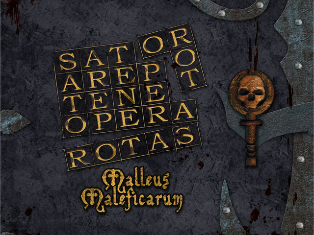 Sator Arepo Tenet Opera Rotas: Malleus Maleficarum Bild 1