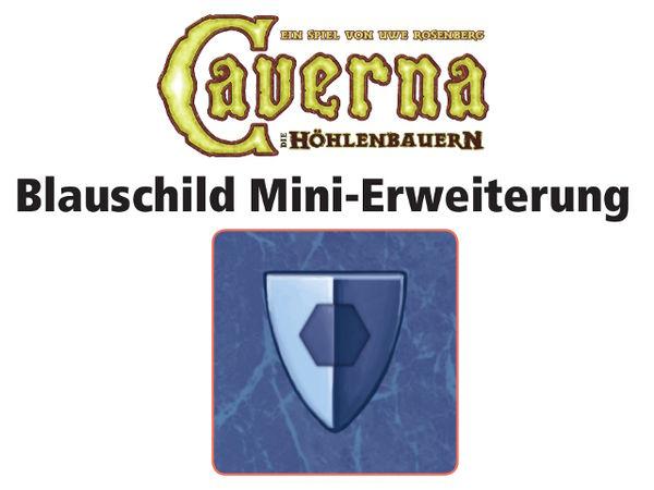 Bild zu Alle Brettspiele-Spiel Caverna: Blauschild Mini-Erweiterung