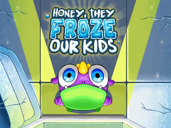 Bild zu Geschick-Spiel Honey, They Froze Our Kids