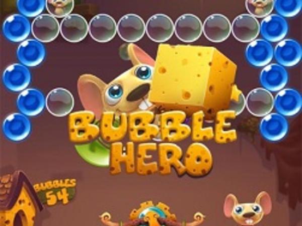 Bild zu Denken-Spiel Bubble Hero 3D