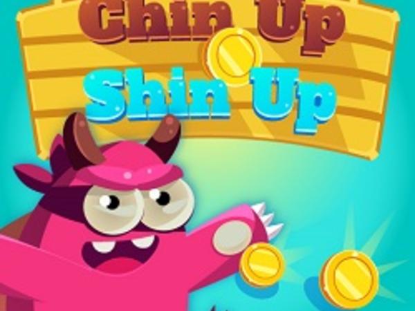 Bild zu Denken-Spiel Chin Up Shin Up