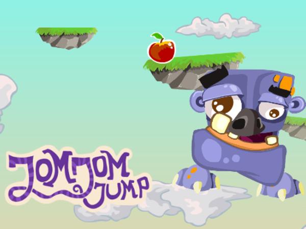 Bild zu HTML5-Spiel JomJom Jump