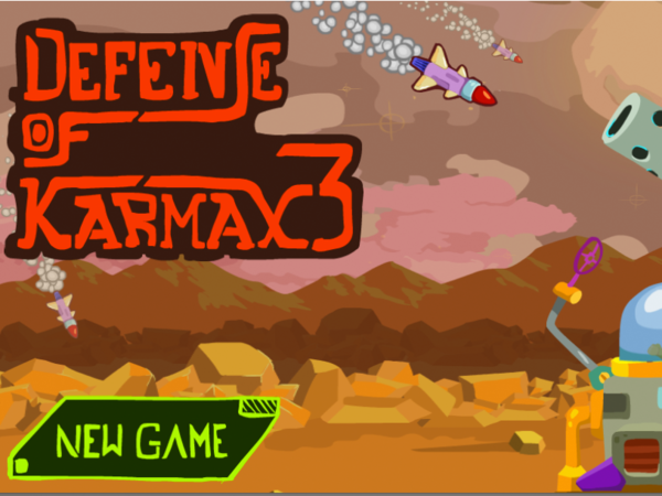 Bild zu Action-Spiel Captain Rogers Defense of Karmax