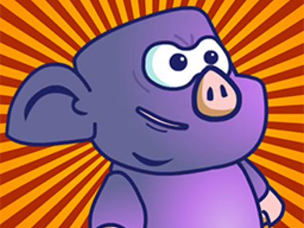 Bild zu Geschick-Spiel Ninja Pig