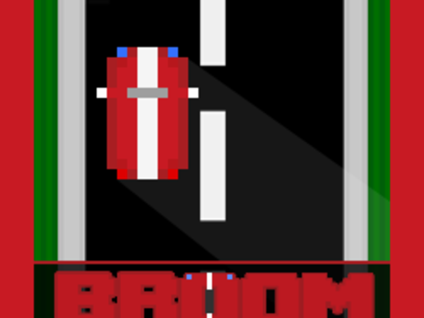 Bild zu Rennen-Spiel Broom