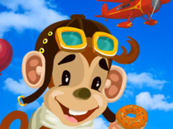 Bild zu Action-Spiel Tommy the Monkey Pilot