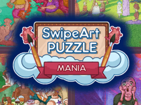 Bild zu Denken-Spiel Swipe Art Puzzle