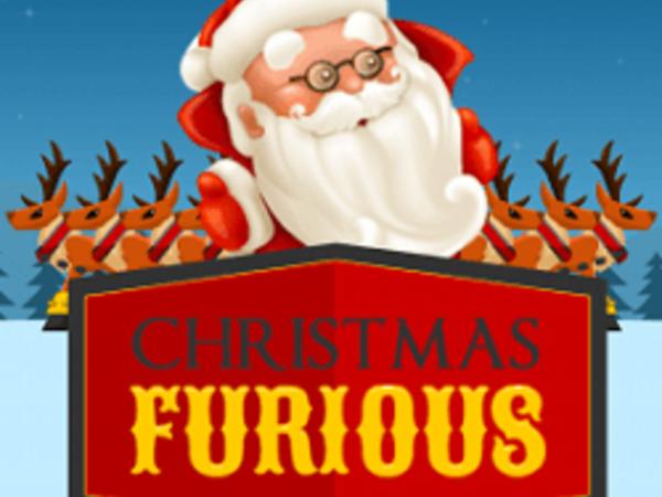 Bild zu Geschick-Spiel Xmas Furious