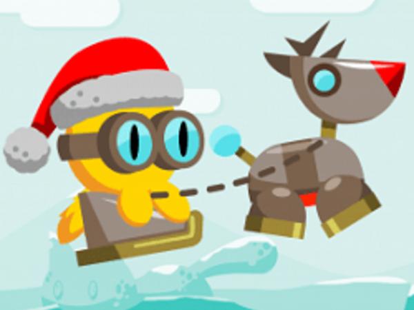 Bild zu Action-Spiel Xmas FlapCat