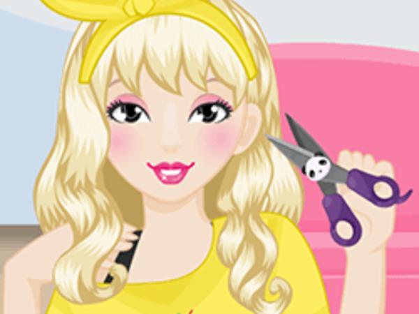 Bild zu Mädchen-Spiel Panda Hair-do