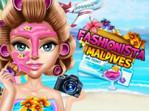 Bild zu Mädchen-Spiel Fashionista Maldives