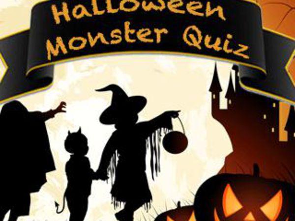 Bild zu Denken-Spiel Halloween Monster Quiz