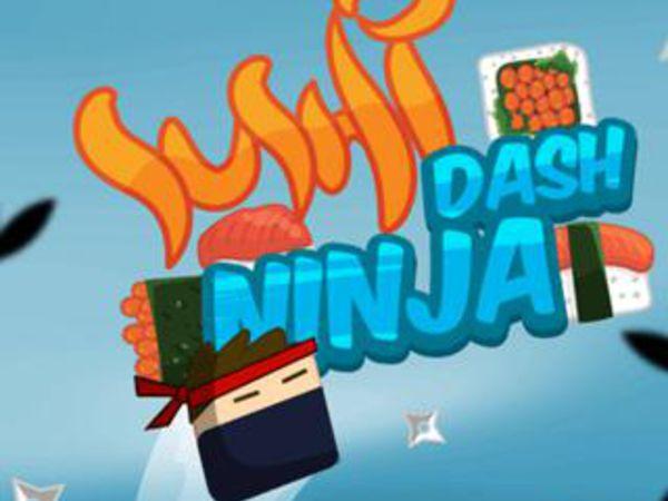 Bild zu Action-Spiel Sushi Ninja Dash
