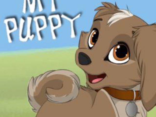 Bild zu Mädchen-Spiel My Puppy