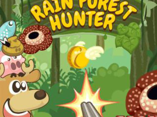 Bild zu HTML5-Spiel Rain Forest Hunter
