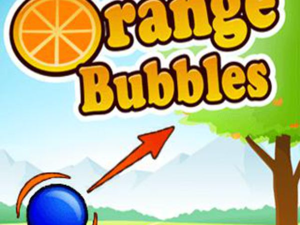 Orange Bubbles Kostenlos