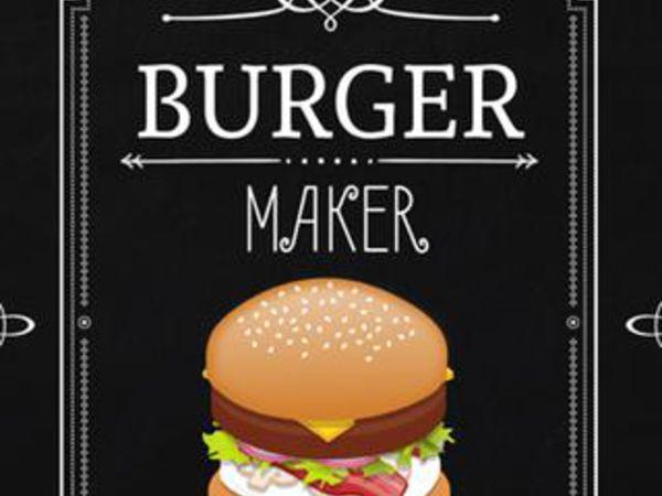 Bild zu Action-Spiel Burger Maker