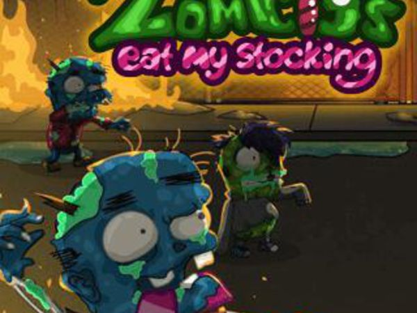 Bild zu Action-Spiel Zombies Eat My Stocking