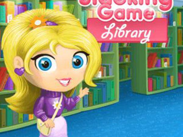 Bild zu Mädchen-Spiel Slacking Library