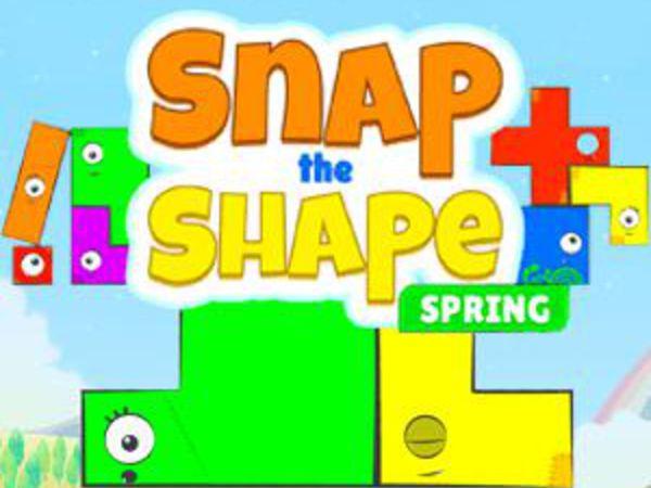 Bild zu Denken-Spiel Snap The Shape: Spring