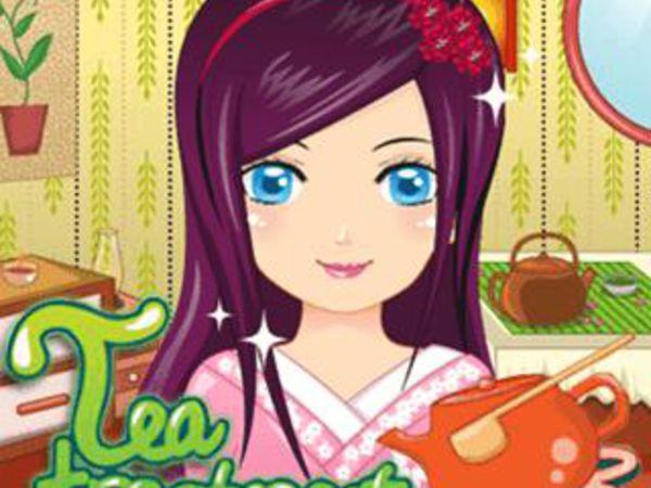 Bild zu Mädchen-Spiel Tea Treatment