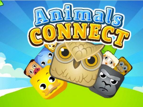 Bild zu Denken-Spiel Animals Connect