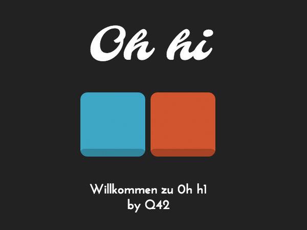 Bild zu HTML5-Spiel 0h h1