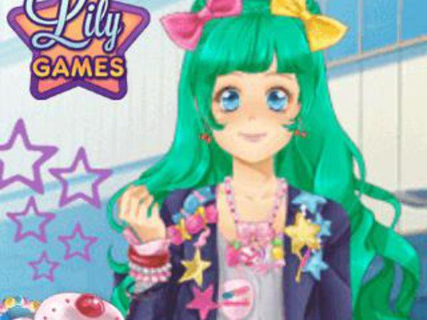 Bild zu Mädchen-Spiel Manga Lily