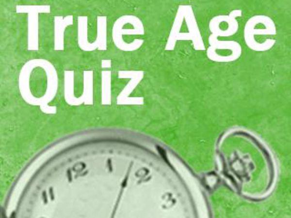 Bild zu Denken-Spiel Was ist dein wahres Alter?