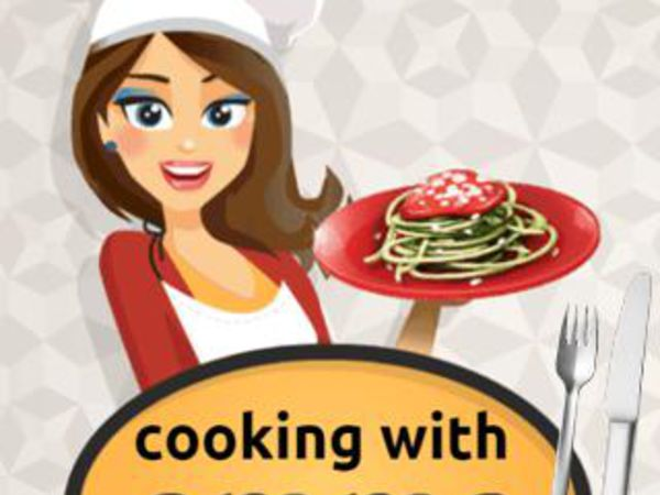 Bild zu Mädchen-Spiel Emma's Zucchini Spaghetti Bolognese