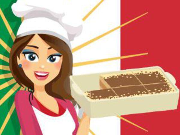 Bild zu Mädchen-Spiel Emma's Tiramisu