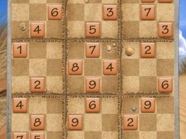 Bild zu Denken-Spiel Beach Sudoku
