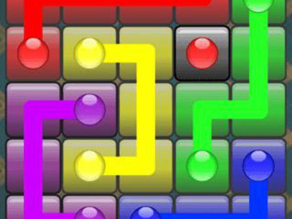 Bild zu Denken-Spiel Flow Free
