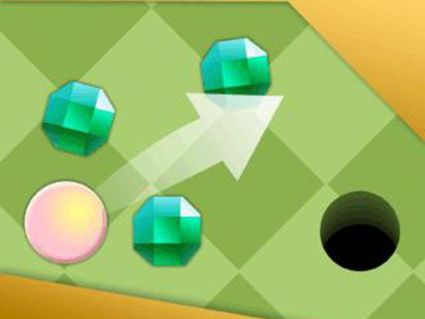 Bild zu Geschick-Spiel Minigolf im Garten