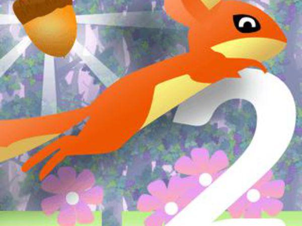 Bild zu Geschick-Spiel Nut Rush 2: Sommer Sprint