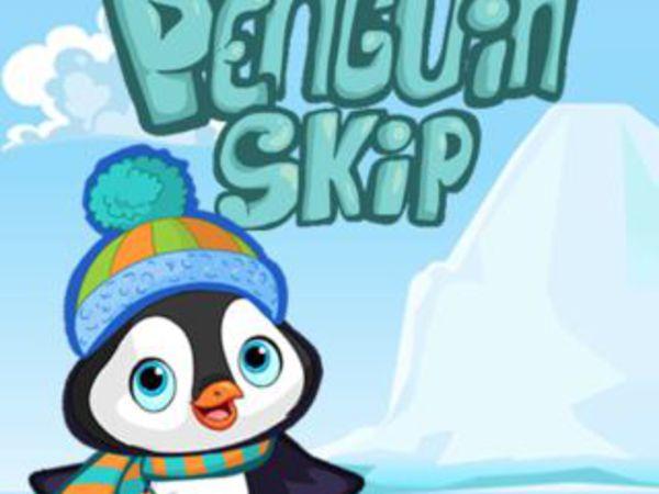 Bild zu Action-Spiel Penguin Skip