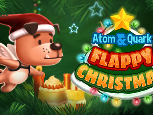 Bild zu Geschick-Spiel Flappy Christmas