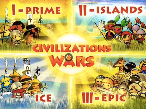 Bild zu Strategie-Spiel Civilizations Wars All Stars