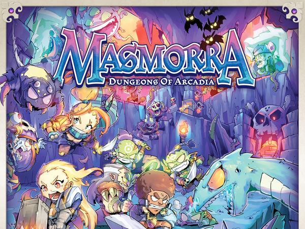 Bild zu Alle Brettspiele-Spiel Masmorra: Dungeons von Arcadia