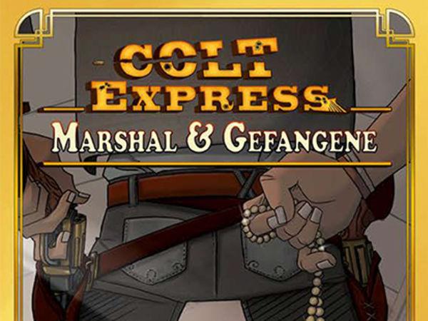 Bild zu Alle Brettspiele-Spiel Colt Express: US Marshall & Gefangene
