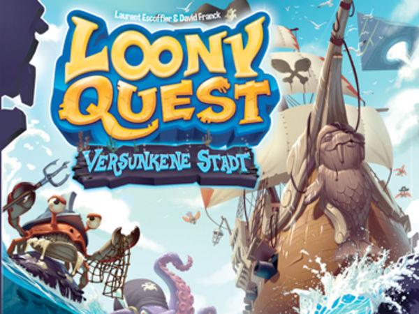 Bild zu Alle Brettspiele-Spiel Loony Quest: Versunkene Stadt