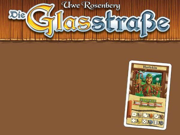 Bild zu Alle Brettspiele-Spiel Die Glassstraße: Harlekin