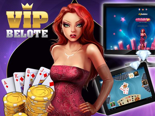 Bild zu Strategie-Spiel VIP Belote