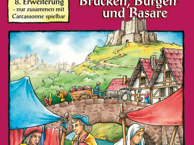 Carcassonne: 8. Erweiterung - Brücken, Burgen und Basare Bild 1