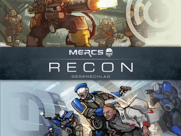 Bild zu Alle Brettspiele-Spiel Mercs Recon: Gegenschlag