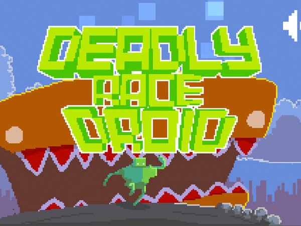 Bild zu Geschick-Spiel Deadly Race Droid