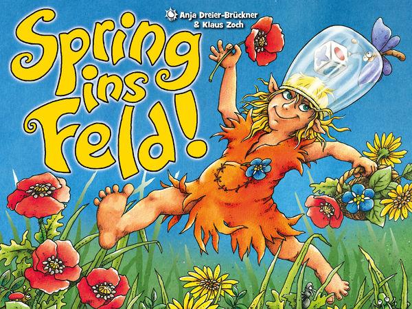 Bild zu Alle Brettspiele-Spiel Spring ins Feld!