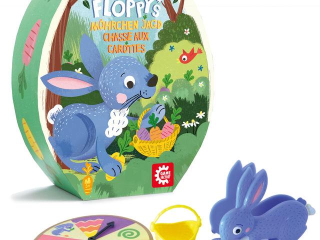 Hoppy Floppys Möhrchenjagd Bild 1