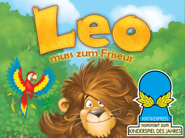 Bild zu Alle Brettspiele-Spiel Leo muss zum Friseur