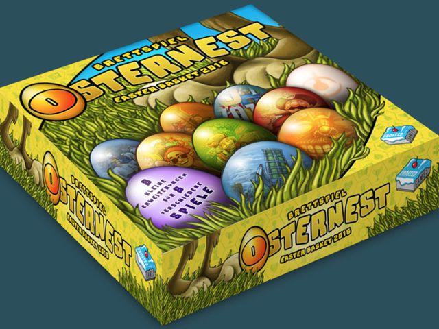 Brettspiel Osternest Bild 1